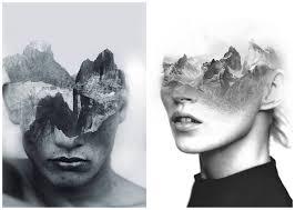 tableau portrait noir et blanc les portraits surréalistes d u0027antonio mora graine de photographe