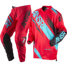 youth answer motocross gear answer 2017 kids mx new syncron red teal jersey pants youth