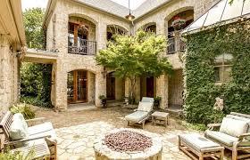 floor courtyard house plans mediterranean casita u shaped hacienda