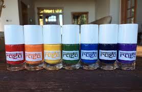 nails of the day raga varnish chakra collection vegan beauty