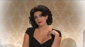 Snl Do It In My Twin Bed Sarah Silverman Does Joan Rivers Impersonation As She Hosts Snl