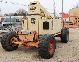 1996 jlg 60ha boom lift item h6242 sold april 10 constr