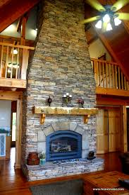 Fireplace Cookeville Tn cookeville model home center by honest abe log homes