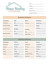 house checklist house hunting checklist simply stacie