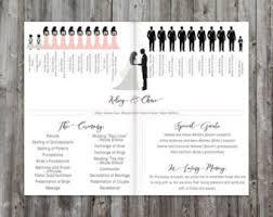 ceremony programs wedding wedding program order of ceremony wedding program