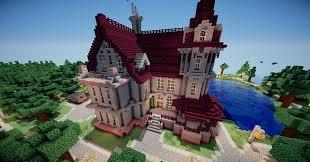 minecraft victorian mansion victorian