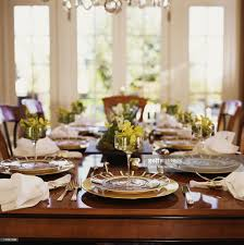 Elegant Table Settings by Elegant Dinner Party Table Setting Stock Photo Getty Images