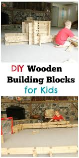 Make Your Own Wooden Toy Train by Diy Wooden Building Blocks Wooden Building Blocks Wooden