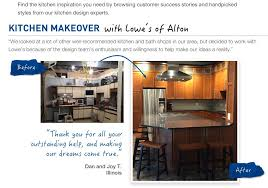 lowes kitchen design ideas before after kitchen makeover inspiration from lowe s