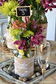 jar floral centerpieces diy jar wedding centerpieces a claireification