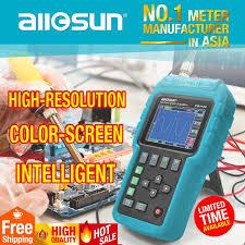 digital scope meter oscilloscope multimeter color screen 50mhz