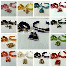 silk thread accessories fr kids sri collections pinterest