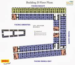 Sm Mall Of Asia Floor Plan by Sm Shore Residences At Mall Of Asia Complex Shore Residences In