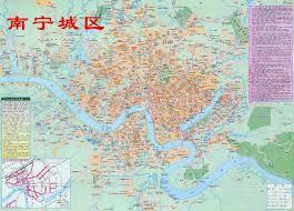 China Province Map Nanning Map City 2500x1800 1 8m Map China Map Shenzhen Map World