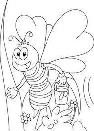 best coloring pages download free honey bee busy in squeeze
