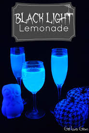 Glow In The Dark Party Decorations Ideas Black Light Lemonade Loves Glam