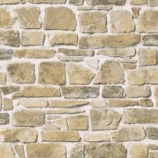 Wall Wallpaper Rasch Stone Wall Wallpaper 265620