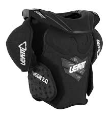 fox motocross body armour leatt fusion 2 0 vest body armor and neck brace for juniors