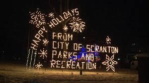 nay aug park christmas lights holiday lights shine in nay aug park wnep com