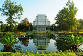 St Louis Botanical Garden Wedding Greenhouse And Glasshouse Venues In The United States