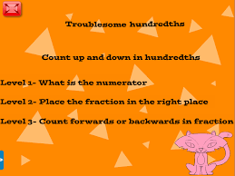 troublesome hundredths a year 4 decimals u0026 fractions resource for