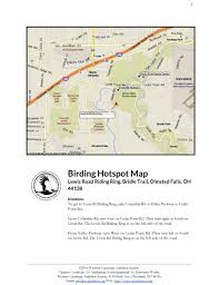 Berea Ohio Map by Lewis Road Riding Ring Bridle Trail Map