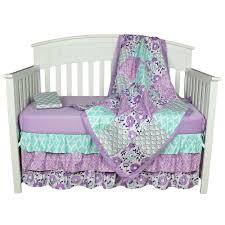 Purple Bedding For Cribs Wonderful Baby Bedding Sets Cheap Nursery Butterfly Uk Crib