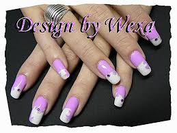 pink airbrush nail art archive style nails magazine
