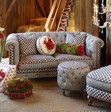 decorating mackenzie childs sofa set in grey
