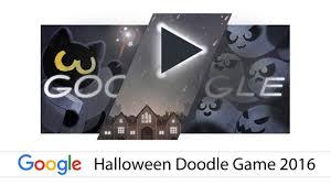 google doodle halloween game 2016 youtube