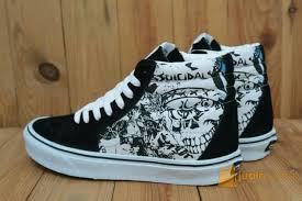 Sepatu Vans sepatu vans sk8 high suicidal tenden cies import premium bnib