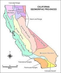california map regions california regions project ideas ca region relief map bean
