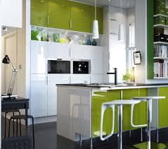 furniture fancy kitchen design idea with kiwi cabinet white green