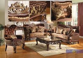 Formal Sofas For Living Room Formal Traditional Sofa Set 2 Pc Antique Sofa Loveseat Living Room