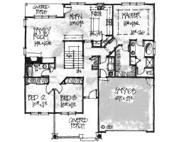 Craftsman Style House Plans With Basement Craftsman Style House Plan 3 Beds 2 Baths 1724 Sq Ft Plan 20