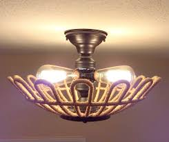 3 light flush mount ceiling light fixtures jute original 3 light flush mount ceiling light the l goods