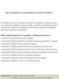 Best Resume Format For Assistant Professor by Top8academiccoordinatorresumesamples 150404034126 Conversion Gate01 Thumbnail 4 Jpg Cb U003d1428136928