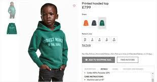 Poor African Kid Meme - h m slammed for photo of black boy in monkey hoodie mom hits back
