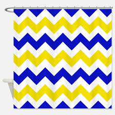 Blue And Yellow Shower Curtains Royal Blue And Yellow Shower Curtains Cafepress