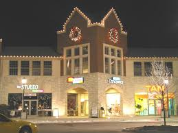 Commercial Building Christmas Decorations by Commercial Holiday Decorations North Texas Christmas Lights