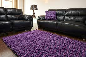 Rug Shops Adelaide Grape Purple Pebble Rug 6ft X 4ft Keens Furniture