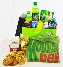 Mrs Fields Gift Baskets Giveaway Mountain Dew Gift Basket Mom Saves Money