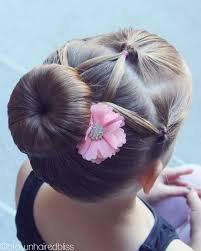 gymnastics picture hair style my girls love to have their hair up and pretty for dance here s a