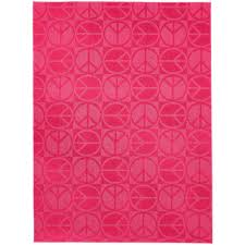 pink garland garland rug large peace pink 7 ft 6 in x 9 ft 6 in area rug cl