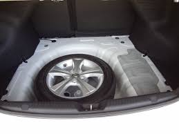 2011 hyundai elantra spare tire if you re wondering if a fullsize tire fits in the trunk as spare
