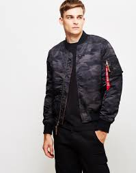 alpha industries black friday new in alpha industries ma 1 vf59 bomber jacket black camo