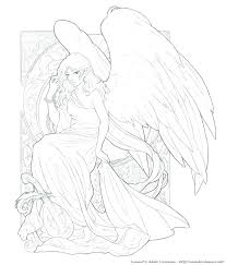 coloring page angel visits joseph coloring pages angels guardian angel coloring pages angels coloring