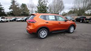 orange nissan rogue 2017 nissan rogue s monarch orange hw266047 kent tacoma