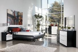 bedroom best modern bedroom furniture designs sipfon home deco a spacious bedroom is the perfect spot to experiment with black and white color combinations the seamless black leather bed is make your bed is more