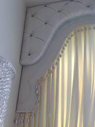 Curtain Cornice Ideas Upholstered Pelmets Dramatic Drapery Details Pinterest